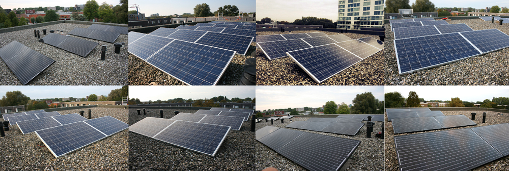 Lemon Solar installeert zonnepanelen in Vrederustbuurt in Den Haag
